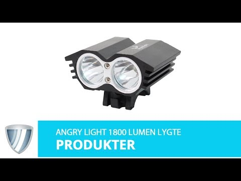 Angry Light 1800 lumen 2-eye video