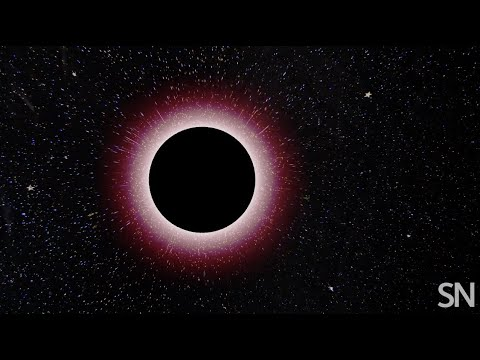 What does a black hole look like? | Science News