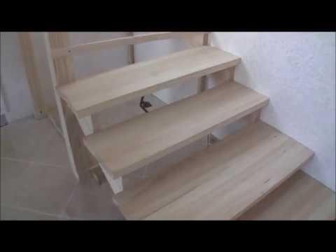 Лестница, Установка и крепеж косоуров 2