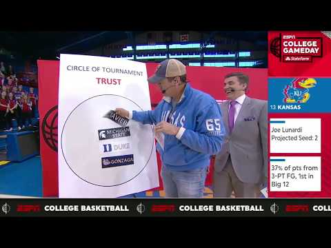 Ron Riggle shows love for the Kansas Jayhawks | College GameDay | ESPN
