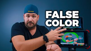What is false color in video