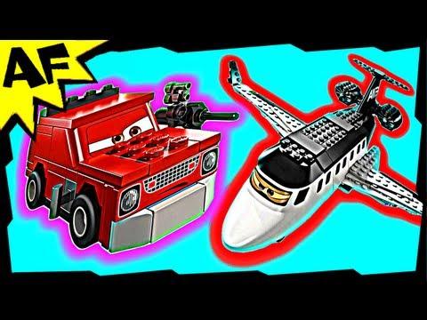Vidéo LEGO Cars 8638 : L'évasion du jet espion
