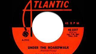 1964 HITS ARCHIVE: Under The Boardwalk - Drifters (hit 45 single version)