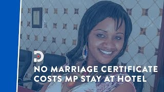 Laikipia MP Waruguru kicked out of hotel for lacking marriage certificate