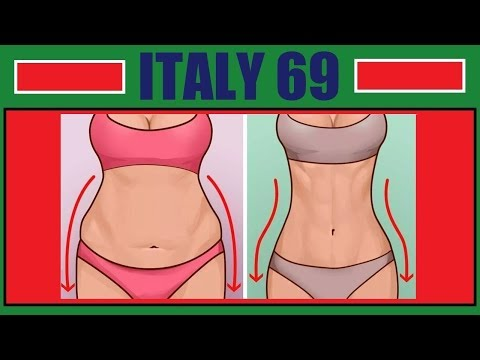 Come togliere il grasso da uno stomaco e parteggia un avvolgere