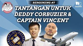 Bergunjing: Tantangan untuk Deddy Corbuzier dan Captain Vincent