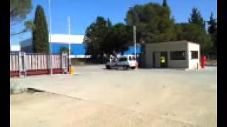 preview picture of video 'Barreras Parking Metalogenia Monzon'