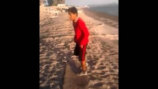 preview picture of video 'practicando backflip mortales'