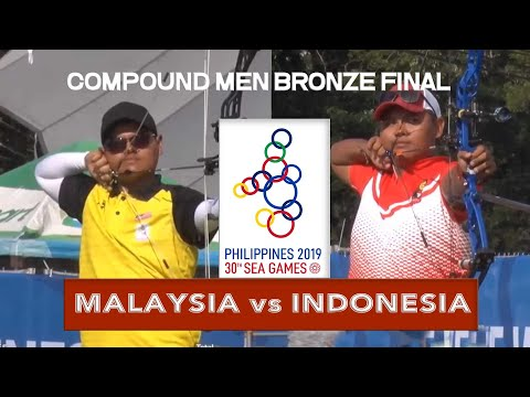 MALAYSIA vs INDONESIA | Compound Men Bronze Final | ARCHERY SEA GAMES 2019
