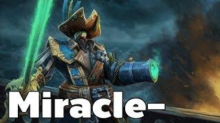 Miracle- Kunkka Mid | Dota2 Rank Match Gameplay