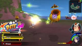 Kingdom Hearts Birth by Sleep Playthrough Part 55 [Aqua: Neverland 1]