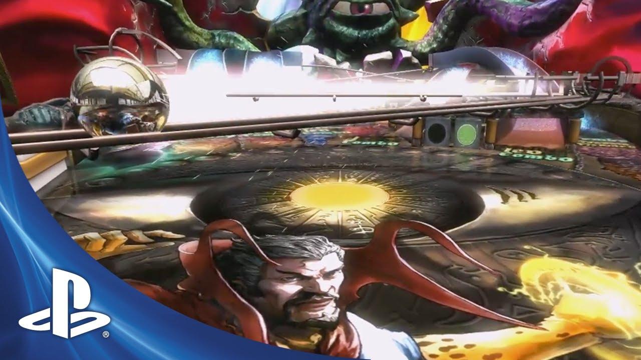 Zen Pinball: Doctor Strange Table Coming in December