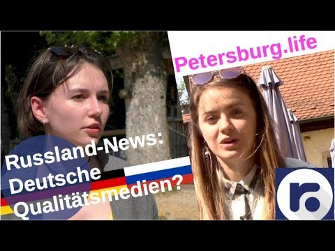 Russlandnews: Deutsche Qualitätsmedien? [Video]
