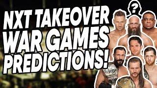 WWE NXT TakeOver: War Games 2019 Predictions! | WrestleTalk Live