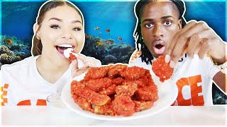 HOT CHEETO FRIED PICKLES + RANCH!!! (HOW WE DEAL WITH HATE?)