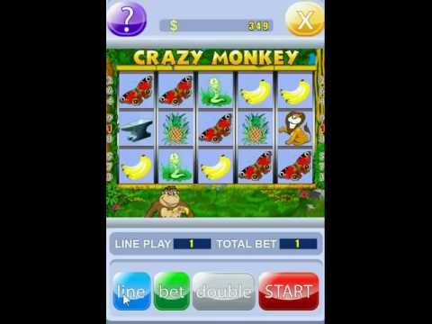 Crazy Monkey slot machine video