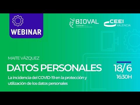 """Webinar: """"La incidencia del COVID-19 en la protección y utilización de los datos personales""""[;;;][;;;]"""