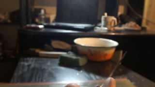 Как заточить нож своими руками