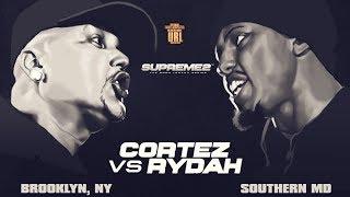 CORTEZ VS RYDA SMACK/ URL RAP BATTLE | URLTV