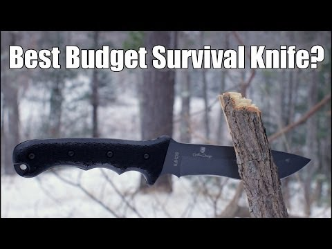 Best Budget Survival Knife?  Schrade SCHF9 Ultimate Survival Knife Review