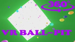 360° VR Bouncy Ball-Pit #360video