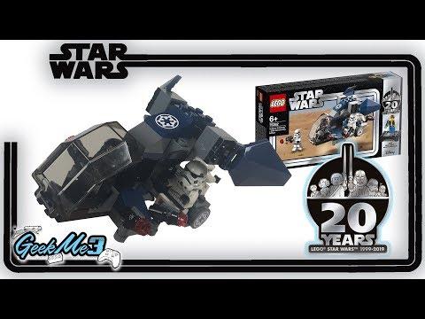 Vidéo LEGO Star Wars 75262 : Imperial Dropship – Édition 20ème anniversaire