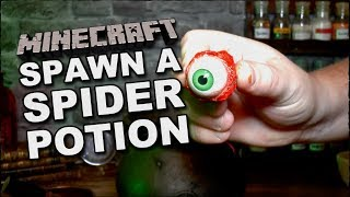 Spawn A Spider With A Minecraft Potion In The Real World