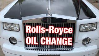 Rolls-Royce Phantom - OIL CHANGE