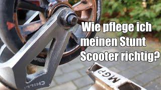 So pflegt ihr euren Stunt Scooter richtig! ||Klappern beim Scooter beheben||