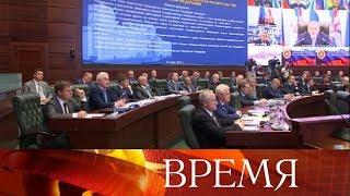 Выполнение Гособоронзаказа обсудили на совещании глав оборонных предприятий.