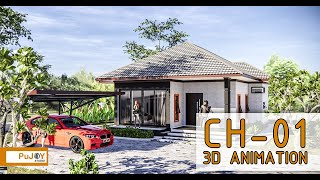 sketchup house design 6 ext int enscape 2 4 real time rendering - TH