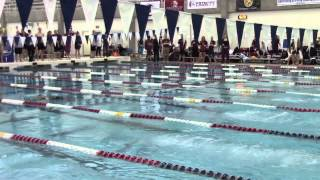2015 SCAC Swimming & Diving Championships - Day 4 Recap