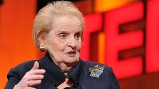 On being a woman and a diplomat - Madeleine Albright