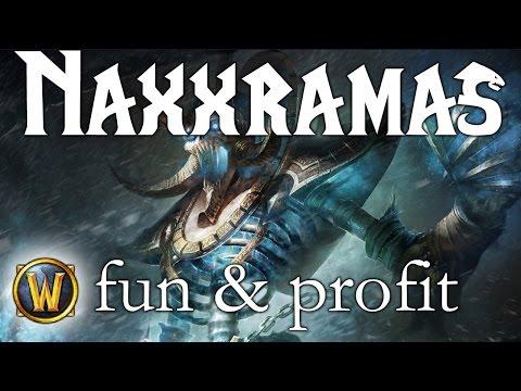 Naxxramas sólo - fun & profit 1100g/45 minut (WoW)