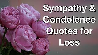 16 Sympathy & Condolence Quotes For Loss