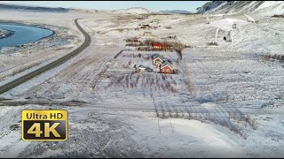 Holiday Homes Around Iceland, 4K DJI Phantom Drone And GoPro