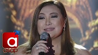 """ASAP: Sharon Cuneta Sings """"Tayong Dalawa"""""""