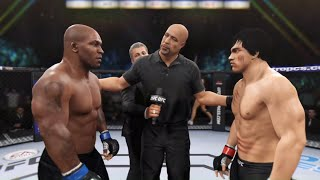 Bruce Lee vs. Mike Tyson (EA Sports UFC 2) - Rematch 🐲🥊