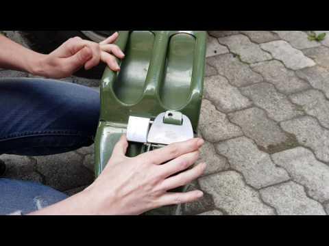 MRB-Fahrzeugtechnik - Diebstahlschutz für die 20 Liter BW Kanister