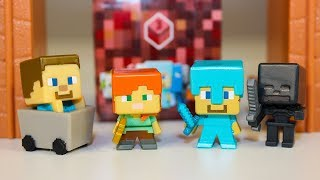 Майнкрафт видео для детей про Игрушки Сюрпризы Распаковка Minecraft Mini - Figure series 3
