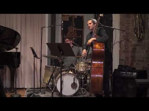 "Me and my jazz trio performing my song ""Spartan Queen."""