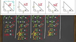 Geo Video 8-3 - Special Right Triangles - Basic