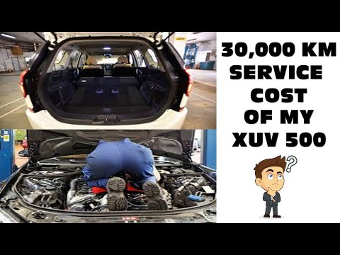 AFTER SERVICE REVIEW MAHINDRA XUV 500 W9 # SERVICE COST AND PROBLEMS AFTER DRIVING 30,000 KM