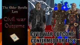 I think Bethesda confirmed the civil war outcome in the lore for TES6 - The Elder Scrolls Lore