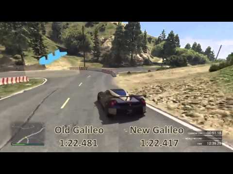 GTA V Racing - Galileo Ring 1:22.4s (Read The Description)