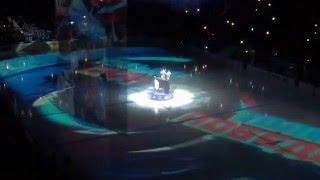 Питер. СКА-Локо. Шоу открытия плэй-офф 2016 / Piter. SKA-Loco. Show opening the playoffs in 2016