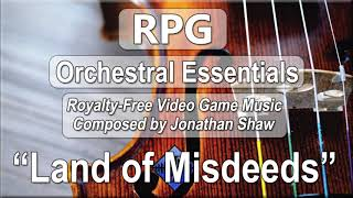 "Free Video Game Music - ""Land of Misdeeds"" (RPG Orchestral Essentials)"