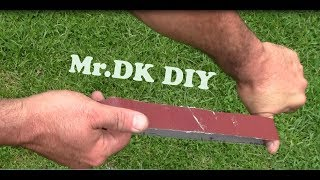 How to Make Your Own Sanding Belt / DIY 2018