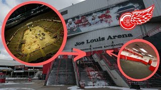 Inside The Abandoned Joe Louis Arena - HOCKEYTOWN, Detroit Red Wings