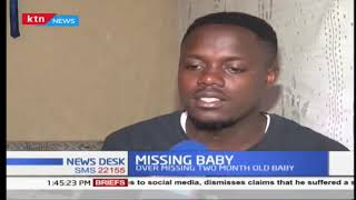 Nakuru family in agony as two months old baby goes missing